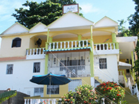 Apart Hotel Aire y Mar in Downtown Samana Dominican Republic : Cheap Price Apartment Hotel with great view of the bay of Samana.