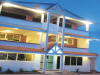 Small Hotel in Samana Dominican Republic. Samana Spring Hotel : Best Small Budget Hotel in Town of Santa Barbara de Samana.