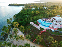 Small Boutique Hotel in Las Galeras, Samana Dominican Republic. Oceanfront Boutique Hotel on Private Beach in Las Galeras DR.